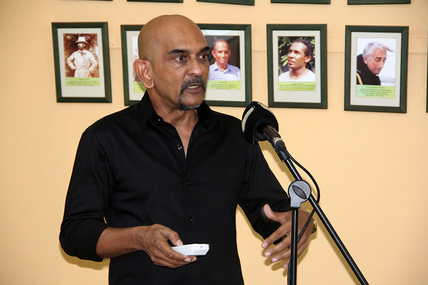 Dr Nirmal Shah Nature Seychelles Chief Executive